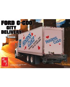 Plastbyggesett, amt-1139-ford-c600-city-delivery-scale-1-25, AMT1139