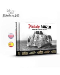 Bøker, Deutsche Panzer -German Tanks in World War I (1917-1918), Bok, ABT720