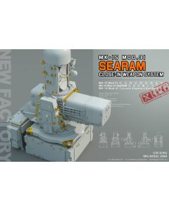 Plastbyggesett, rpg-model-35004-searam-mk-15-mod-31-close-in-wepon-system-scale-1-35, RPG35004