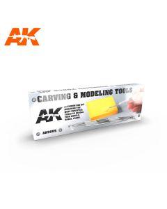 Verktøy, aki-interactive-9005-carving-and-modeling-tools, AKI9005