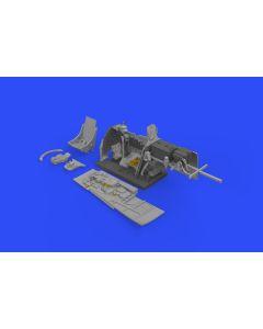 Plastbyggesett, eduard-64489-p-51d-5-cockpit-set-brassin-scale-1-48, EDU648489