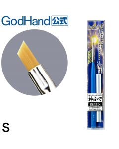 Pensler, godhand-gh-ebrsp-ns-brushwork-pro-oblique-brush-s-small-paintbrush, GODEBRSP-NS