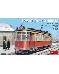 Plastbyggesett, miniart-38020-soviet-tram-kh-x-series-early-type-scale-1-35, MIA38020