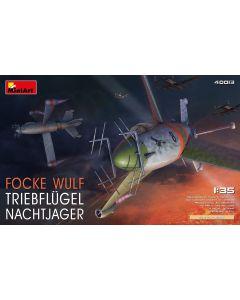 Plastbyggesett, miniart-40013-focke-wulf-triebflugel-nachtjager-scale-1-35, MIA40013