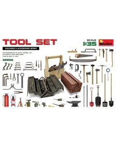 Plastbyggesett, miniart-35603-tool-set-scale-1-35, MIA35603