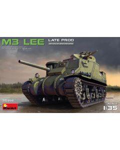 Plastbyggesett, miniart-35214-m3-lee-late-production-scale-1-35, MIA35214