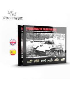 Bøker, abteilung-502-abt-722-panzerwaffe-tarnfarben-1917-1945-english-book, ABT722