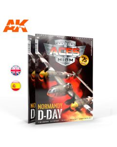Blader, ak-interactive-ak-2933-aces-high-vol-16-normandy-d-day-english-magazine, AKI2933