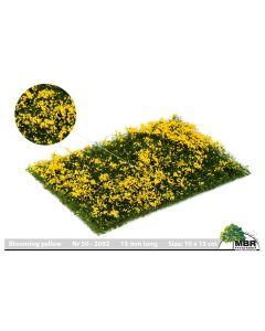 Blomster og planter, Blomster, Blomstrende Gul, MBR50-2002