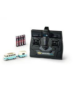 Personbiler, carson-500504122-volkswagen-t1-samba-with-trailer-2-4-ghz-ready-to-run-skala-1-87, CAR500504122