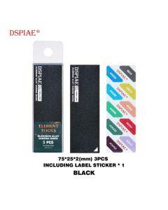 Verktøy, dspiae-as-bk-25-aluminium-alloy-sanding-board-black, DSPABK25