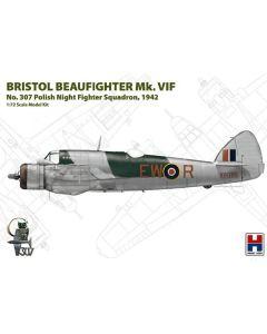Plastbyggesett, hobby-2000-72003-bristol-beaufighter-mk-vif-scale-1-72, H2K72003