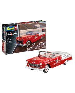 Plastbyggesett, revell-07686-chevy-bel-air-1955-indy-pace-car-scale-1-25, REV07686