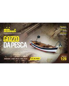 Skutemodeller, Gozzo Dapesca, Trebyggesett 1/28, DUSMM70