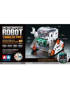 Plastbyggesett, tamiya-71201-microcomputer-robot-crawler-type, TAM71201