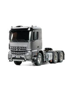 Tamiya RC Lastebil, tamiya-56359-mercedes-benz-mb-arocs-3363-6x4-classic-space-light-gun-metal-edition-scale-1-14, TAM56359