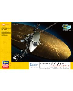 Plastbyggesett, hasegawa-sp406-unmanned-space-proble-voyager-with-golden-record-plate-scale-1-48, HAS52206