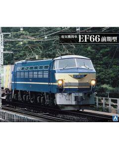 Plastbyggesett, aoshima-05408-electric-locomotive-ef-66-early-version-scale-1-45, AOS05408