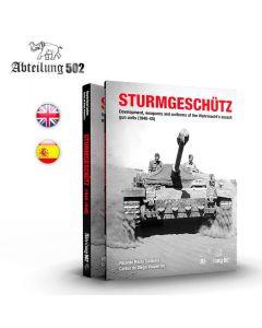 Bøker, ak-interactive-abteilung-502-sturmgeschutz-1940-1945-book-english, ABT724