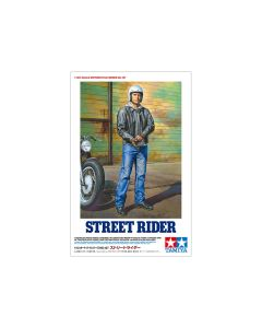 Plastbyggesett, tamiya-14137-street-rider-figure-scale-1-12, TAM14137