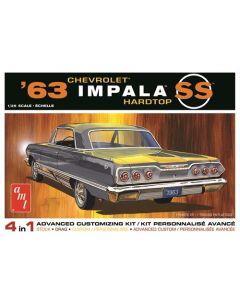 Plastbyggesett, amt-1149-chevy-impala-ss-1963-scale-1-25, AMT1149