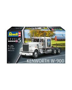 Plastbyggesett, revell-07659-kenworth-w-900-scale-1-25, REV07659