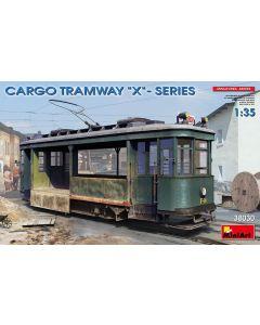 Plastbyggesett, miniart-38030-cargo-tramway-x-series-scale-1-35, MIA38030