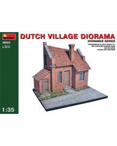 Plastbyggesett, miniart-36023-dutch-vilage-diorama-scale-1-35, MIA36023