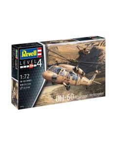 Plastbyggesett, revell-04976-uh-60-transport-helicopter-us-army-scale-1-72, REV04976