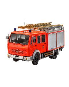 Plastbyggesett, revell-07655-mercedes-benz-mb-1017-lf-16-fire-truck-scale-1-24, REV07655