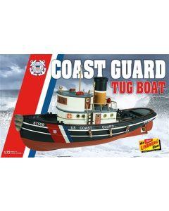 Plastbyggesett, lindberg-hl-228-coast-guard-tug-boat-scale-1-25, LIBHL228