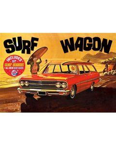 Plastbyggesett, amt-1131-chevrolet-1965-chevelle-surf-wagon-scale-1-25, AMT1131