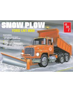 Plastbyggesett, amt-1178-ford-lnt-8000-snow-plow-scale-1-25, AMT1178