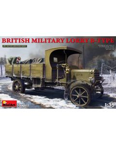 Plastbyggesett, miniart-39003-british-military-lorry-b-type-scale-1-35, MIA39003