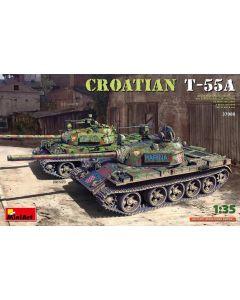 Plastbyggesett, miniart-37088-croatian-t-55a-scale-1-35, MIA37088