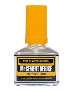 Lim og smøremidler, mr-hobby-mc-127-mr-cement-deluxe-40-ml, MRHMC-127