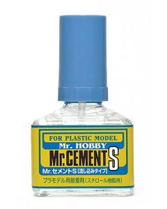 Lim og smøremidler, mr-hobby-mc-129-mr-cement-s-40-ml, MRHMC-129