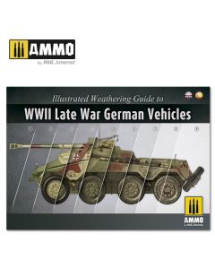 Bøker, ammo-by-mig-jimenez-mig-6015-illustrated-guide-to-ww2-late-war-german-vehicles, MIG6015