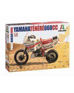 Plastbyggesett, italeri-4642-yamaha-tenere-660-cc-paris-dakar-1986-scale-1-9, ITA4642