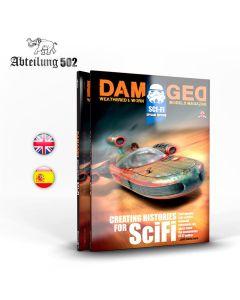 Bøker, ak-interactive-abteilung-502-abt-732-damaged-sci-fi-special-edition-book-english, ABT732