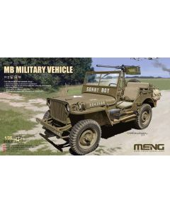 Plastbyggesett, meng-vs-011-mb-military-vehicle-scale-1-35, MNGVS011