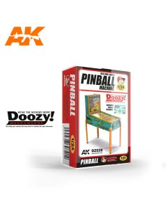 Plastbyggesett, ak-interactive-doozy-dz028-pinball-machine-1940-1950-usa-scale-1-24, AKIDZ028