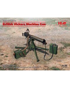 Plastbyggesett, icm-35712-british-vickers-machine-gun-scale-1-35, ICM35712