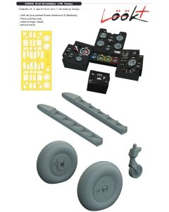 Plastbyggesett, eduard-644058-ki-61-id-look-plus-for-tamiya-kit-scale-1-48, EDU644058