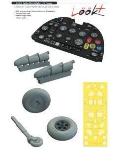 Plastbyggesett, eduard-644056-spitfire-mk-1-look-plus-for-tamiya-kit-scale-1-48, EDU644056