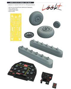 Plastbyggesett, eduard-644053-p-51d-15-look-plus-for-eduard-kit-scale-1-48, EDU644053