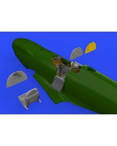 Plastbyggesett, eduard-648578-spitfire-mk-1-cockpit-for-eduard-kit-brassin-scale-1-48, EDU648578