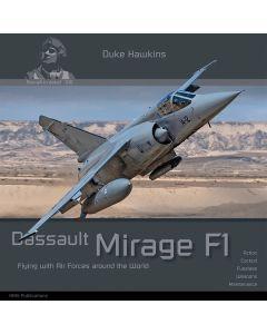 Bøker, duke-hawkins-010-dassault-mirage-f1-book, DHA010
