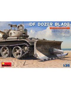 Plastbyggesett, miniart-37030-idf-dozer-blade-scale-1-35, MIA37030