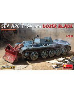 Plastbyggesett, miniart-37028-sla-apc-t-54-with-dozer-blade-and-full-interior-scale-1-35, MIA37028